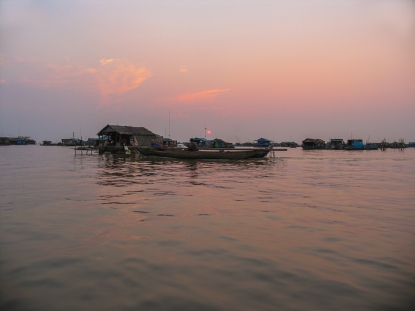 Cambodge_Tonle Sap1__sunset